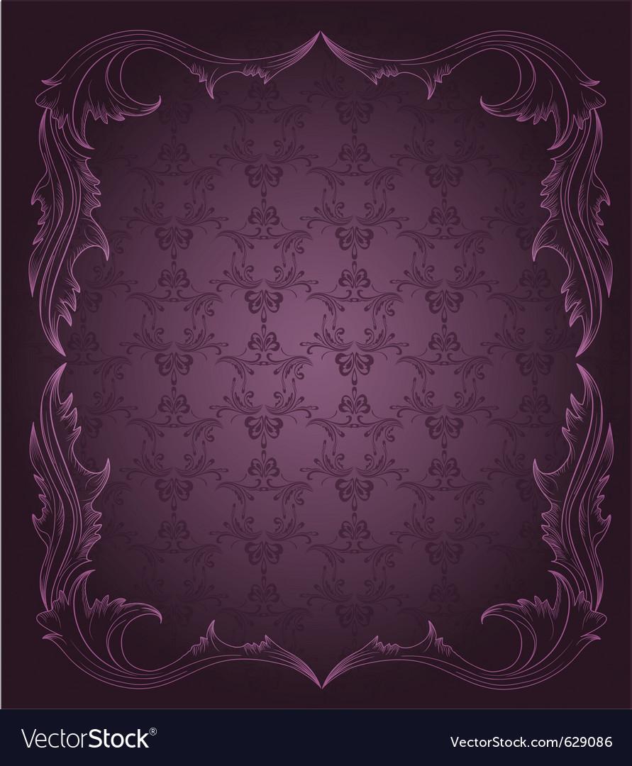 Vintage elegant background vector | Price: 1 Credit (USD $1)