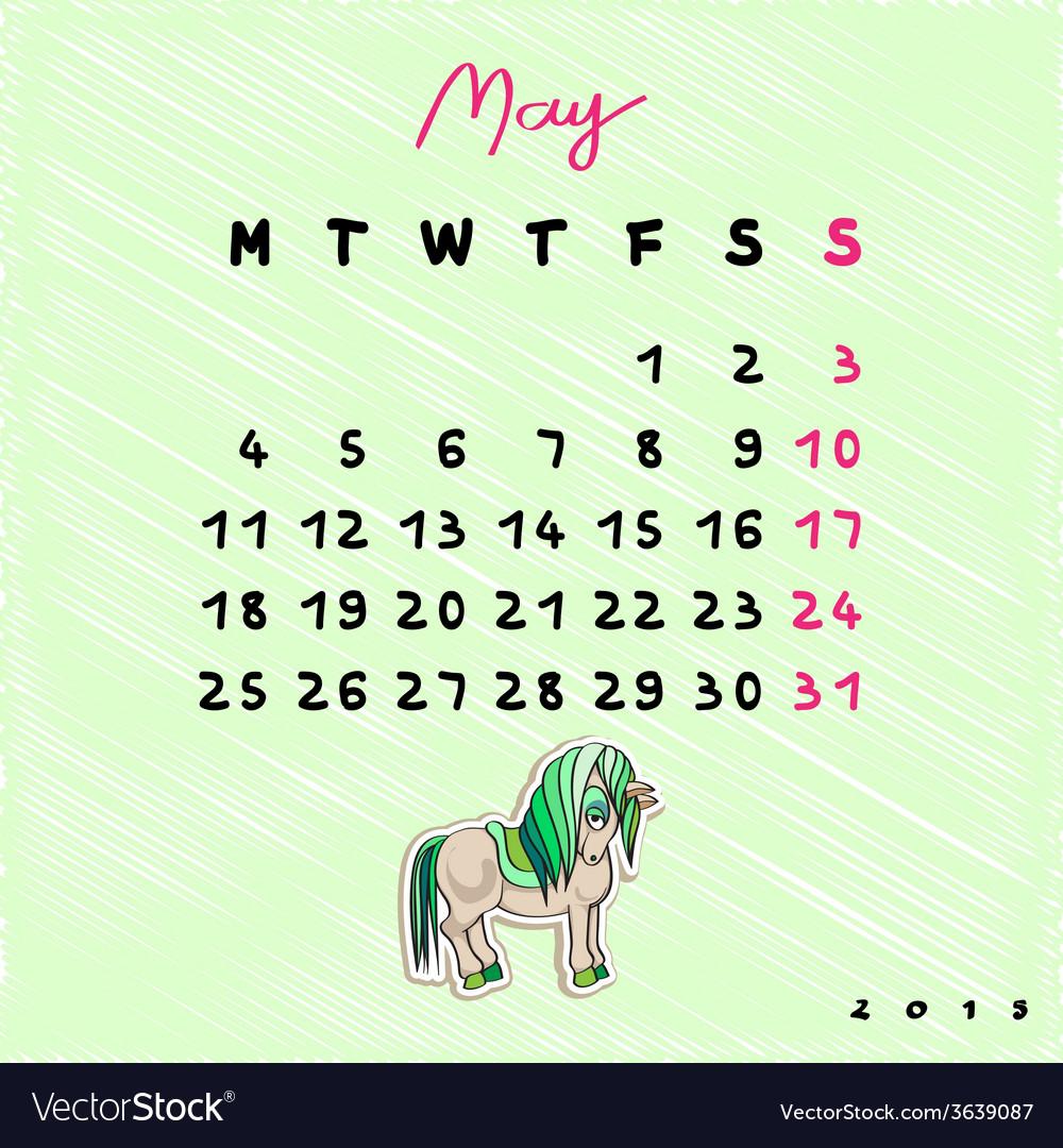 2015 horses may vector | Price: 1 Credit (USD $1)