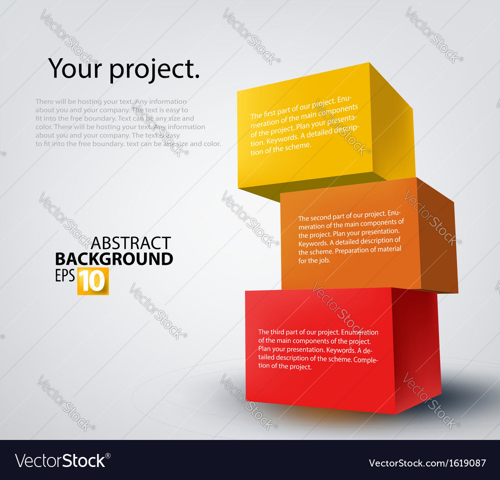 3d boxes vector | Price: 1 Credit (USD $1)