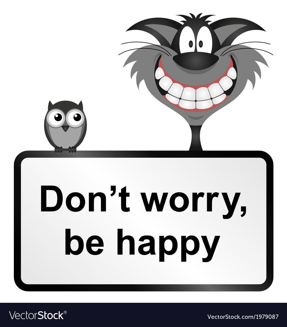 Be happy vector | Price: 1 Credit (USD $1)