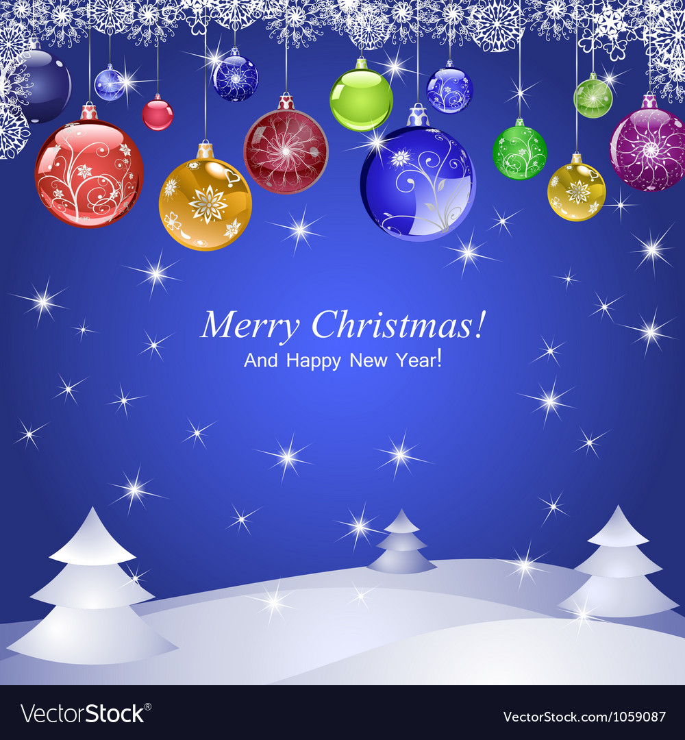 Merry christmas 2 vector | Price: 1 Credit (USD $1)