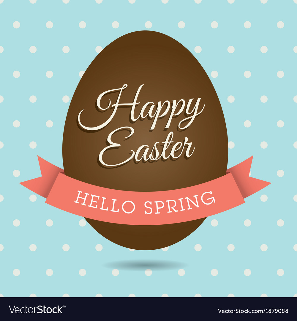 Easter card egg vector | Price: 1 Credit (USD $1)