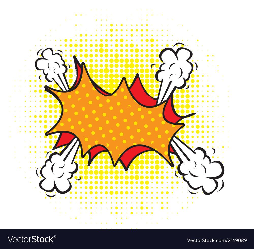 Blank comic cloud vector   Price: 1 Credit (USD $1)