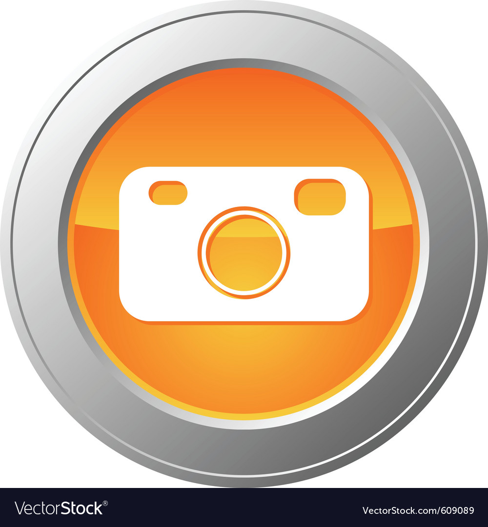 Camera button vector | Price: 1 Credit (USD $1)