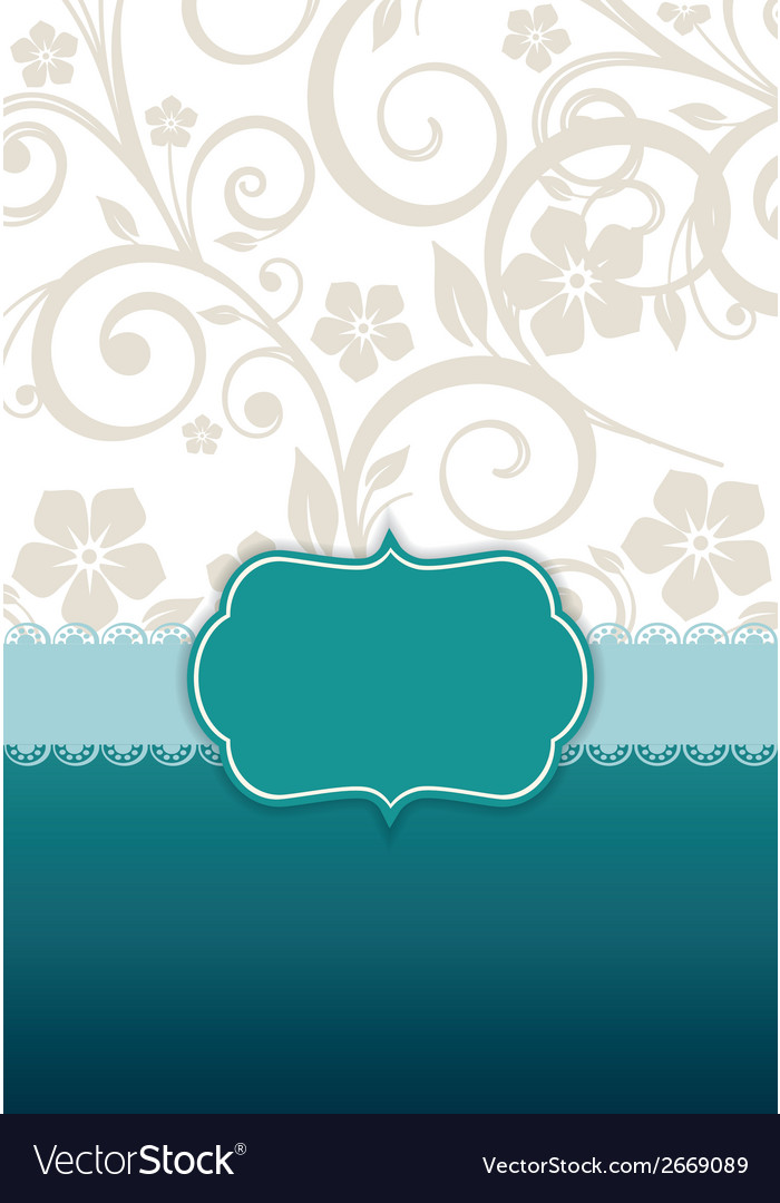 Invitation vector | Price: 1 Credit (USD $1)