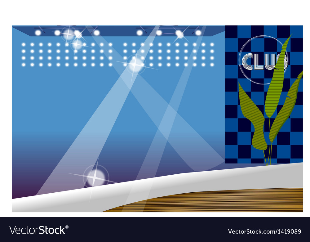 Night club background vector | Price: 1 Credit (USD $1)