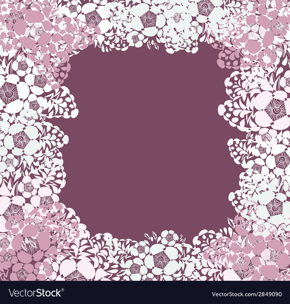 Lace background with a place for text vector | Price: 1 Credit (USD $1)