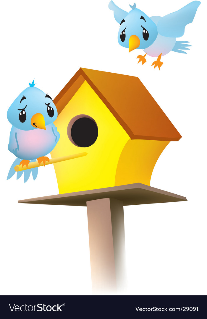 Birdhouse vector | Price:  Credit (USD $)