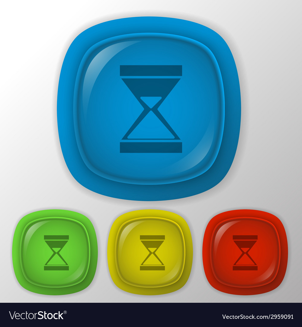 Hourglass waiting vector | Price: 1 Credit (USD $1)