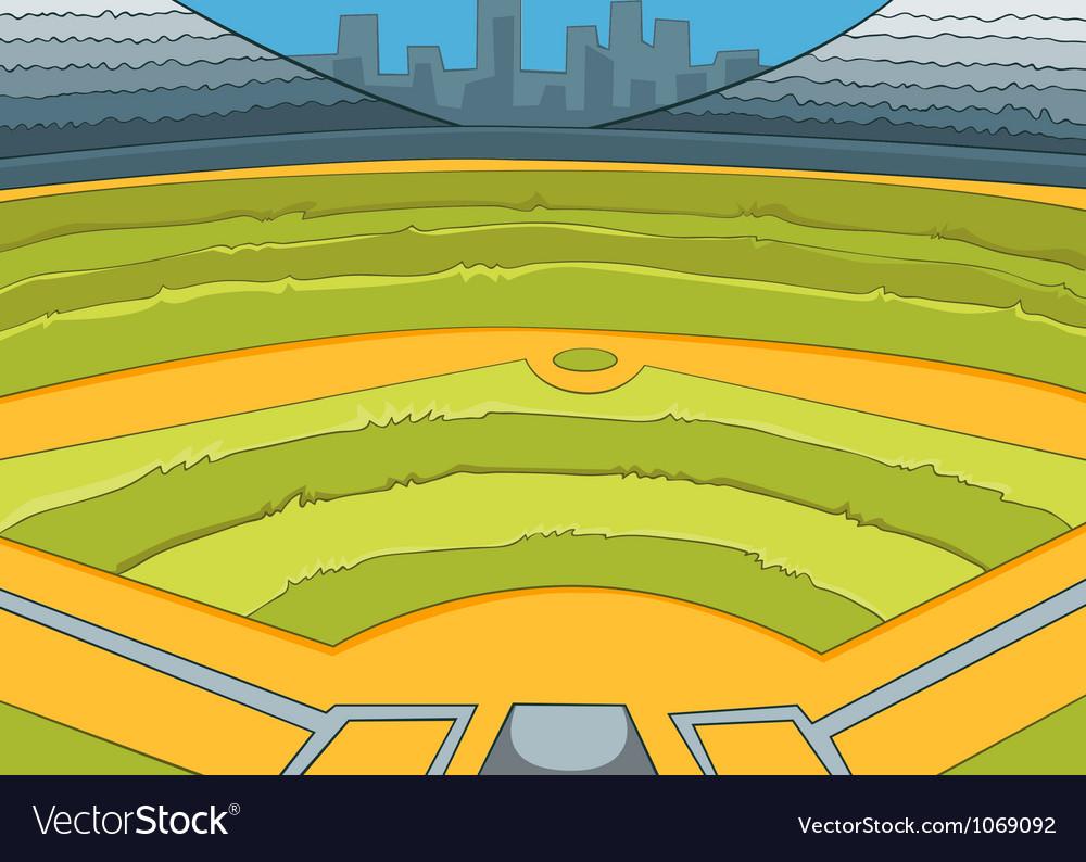 Baseball stadium vector   Price: 1 Credit (USD $1)