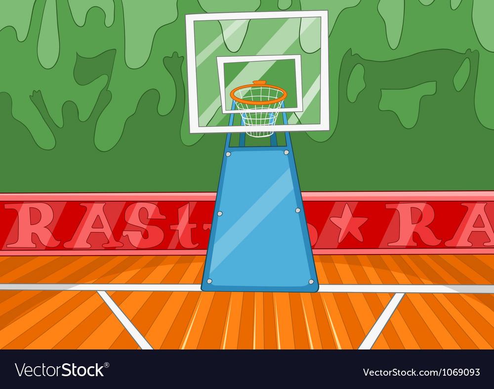 Basketball stadium vector | Price: 1 Credit (USD $1)