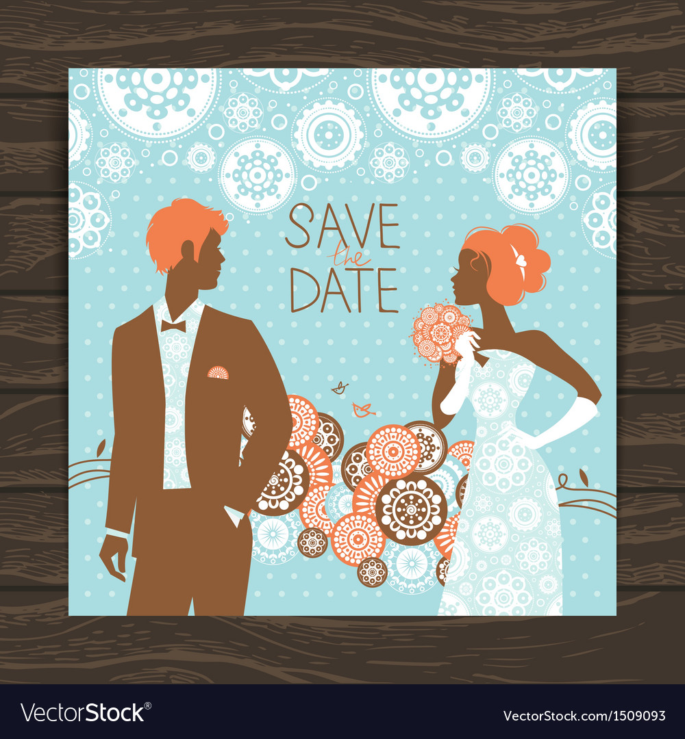 Wedding invitation card vector   Price: 1 Credit (USD $1)