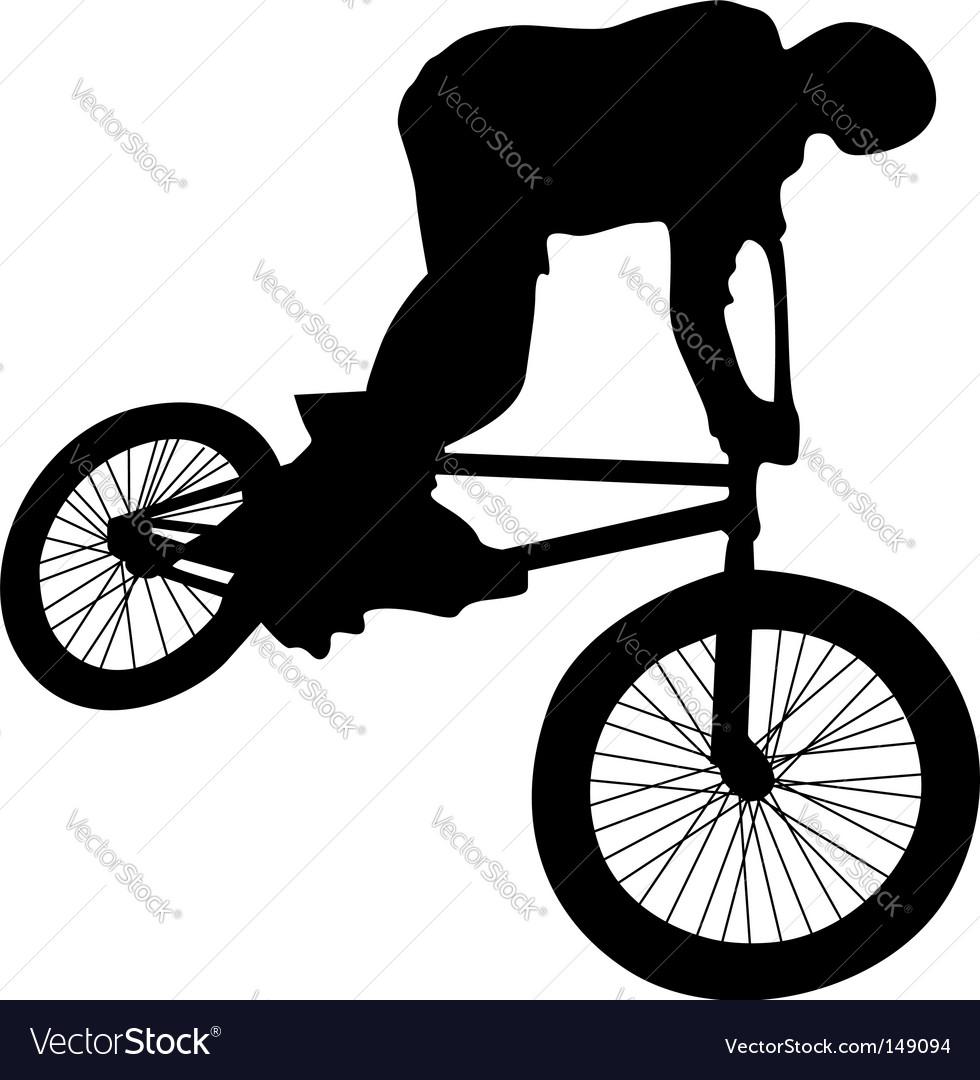 Bmx rider vector | Price: 1 Credit (USD $1)