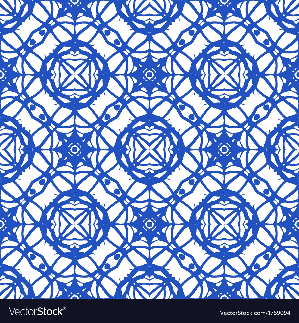 Seamless pattern with mediterranean motifs vector | Price: 1 Credit (USD $1)
