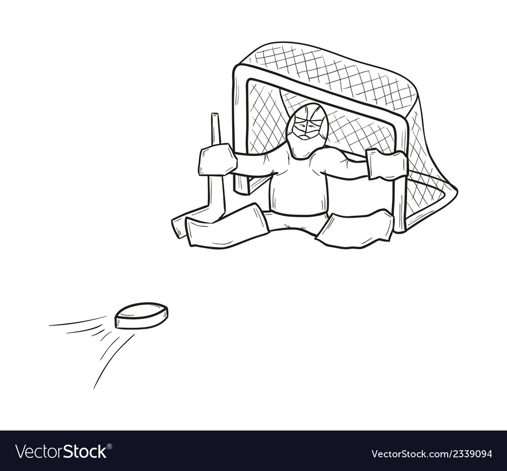 Sketch of the goalkeeper vector | Price: 1 Credit (USD $1)