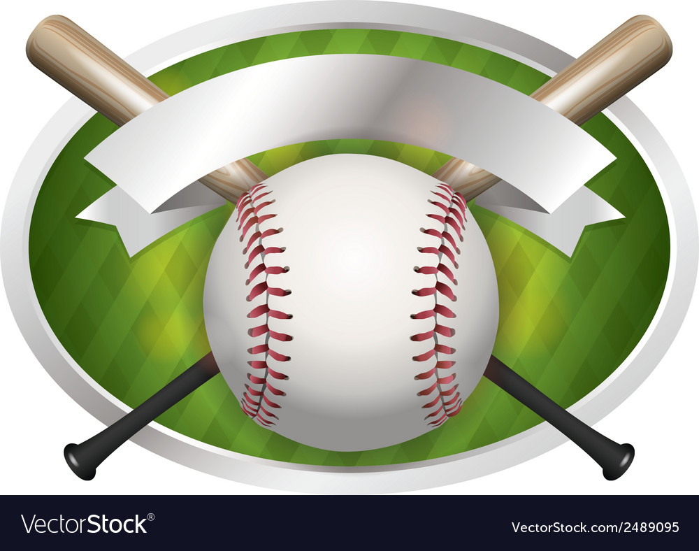 Baseball champions bat vector | Price: 1 Credit (USD $1)