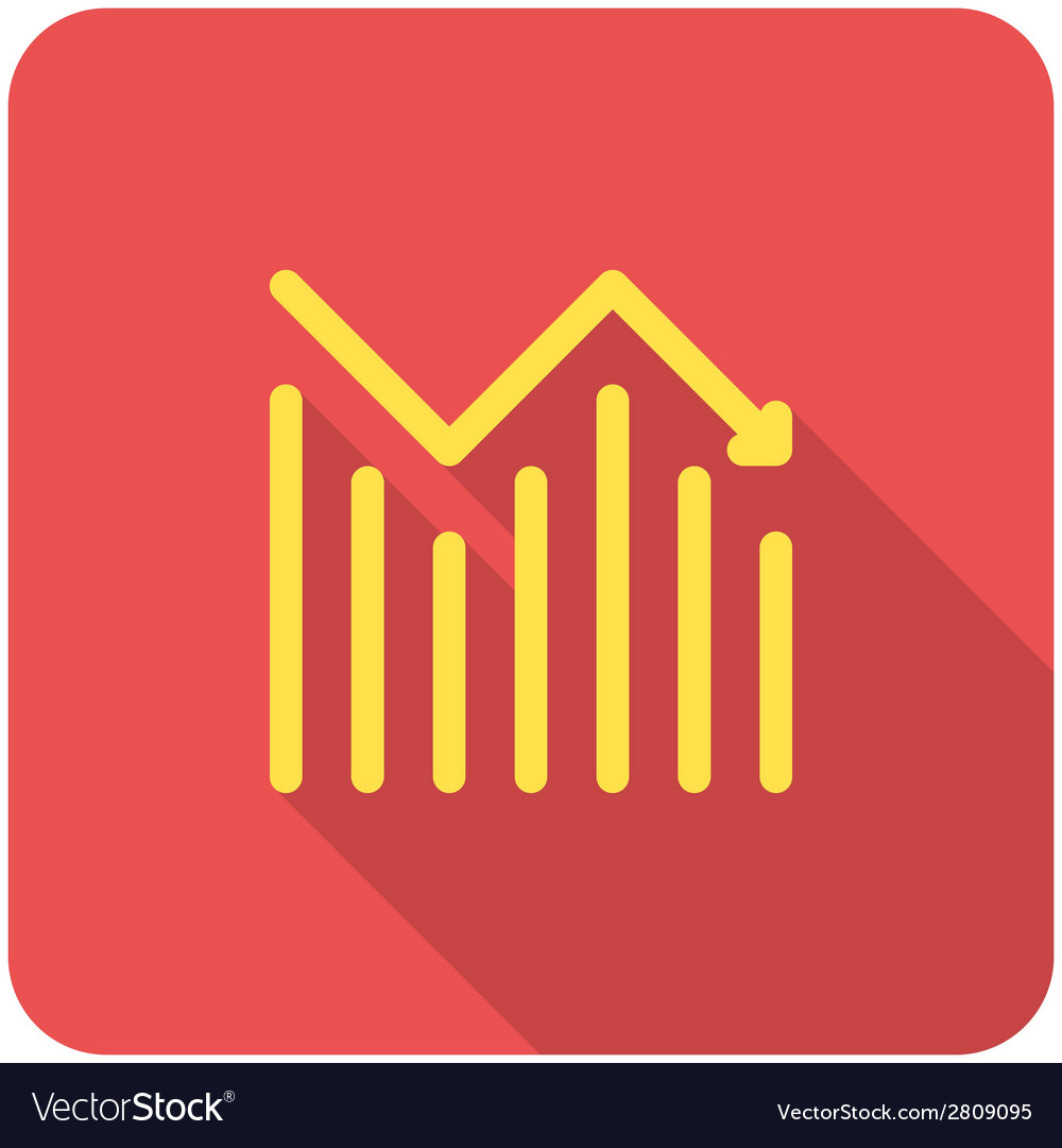 Chart icon vector | Price: 1 Credit (USD $1)