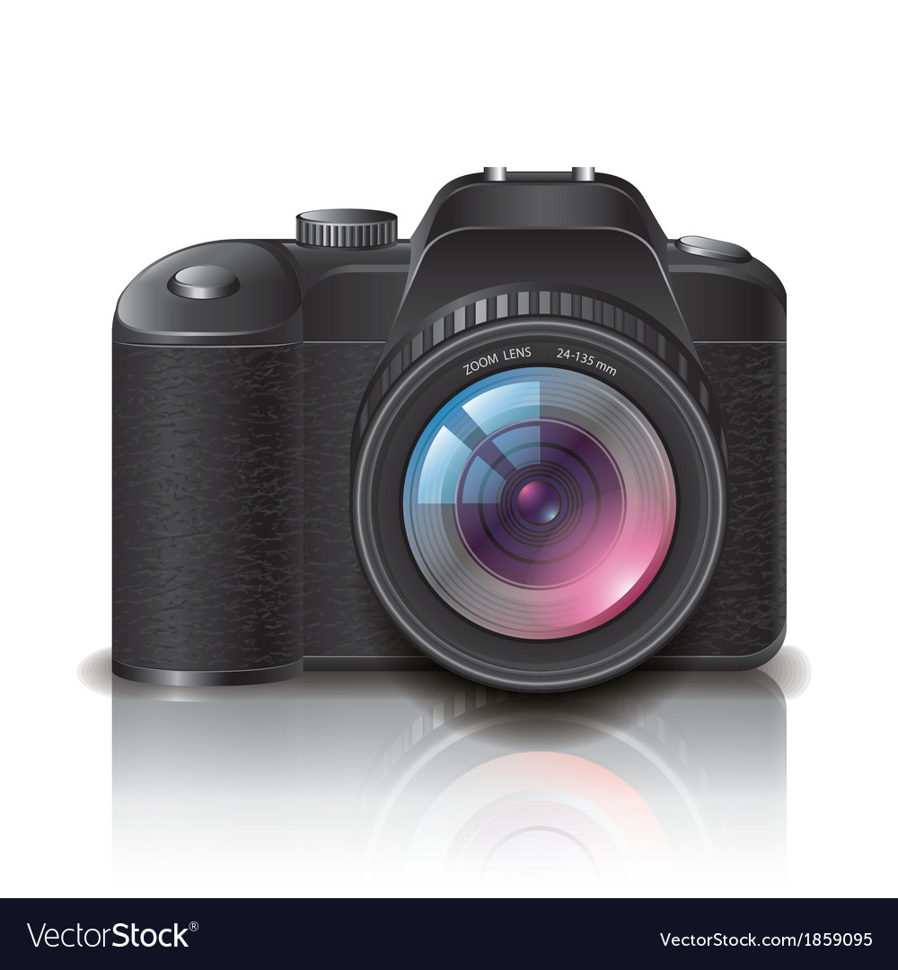Object photocamera vector | Price: 1 Credit (USD $1)