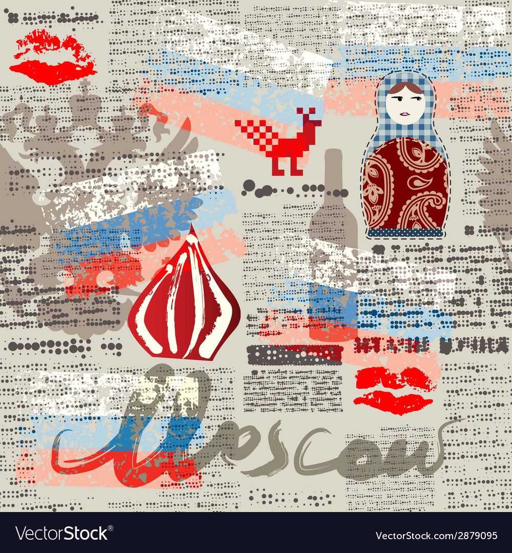 Paper moscow vector | Price: 1 Credit (USD $1)