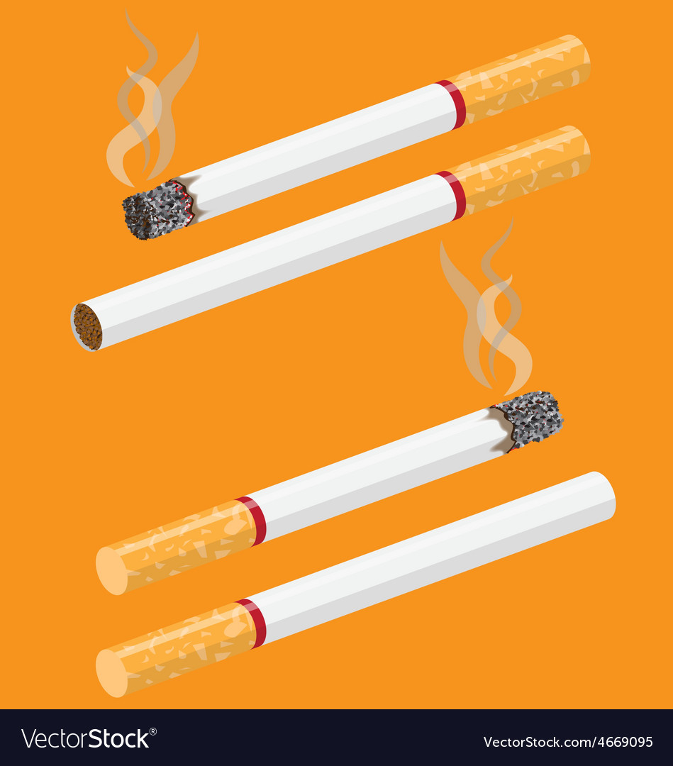 Smoking vector | Price: 1 Credit (USD $1)