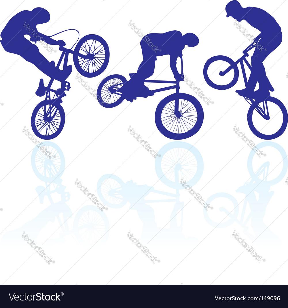 Bmx riders vector | Price: 1 Credit (USD $1)