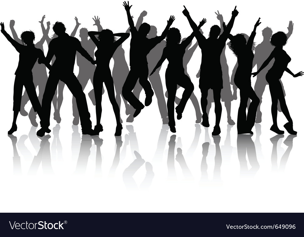 Celebration people vector | Price: 1 Credit (USD $1)