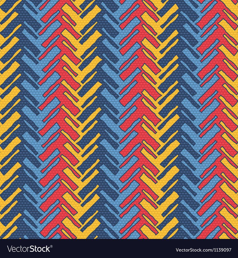Colorful herringbone vector | Price: 1 Credit (USD $1)