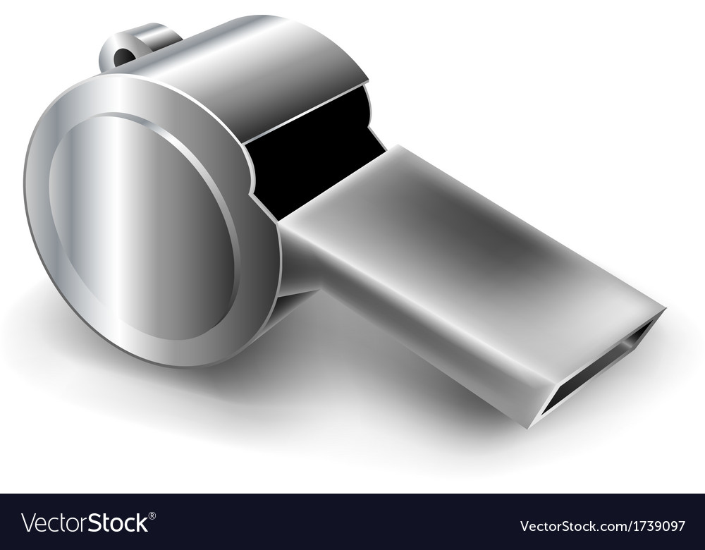 Metal whistle vector | Price: 1 Credit (USD $1)