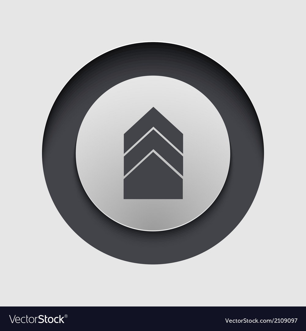 Modern circle icon eps10 vector | Price: 1 Credit (USD $1)