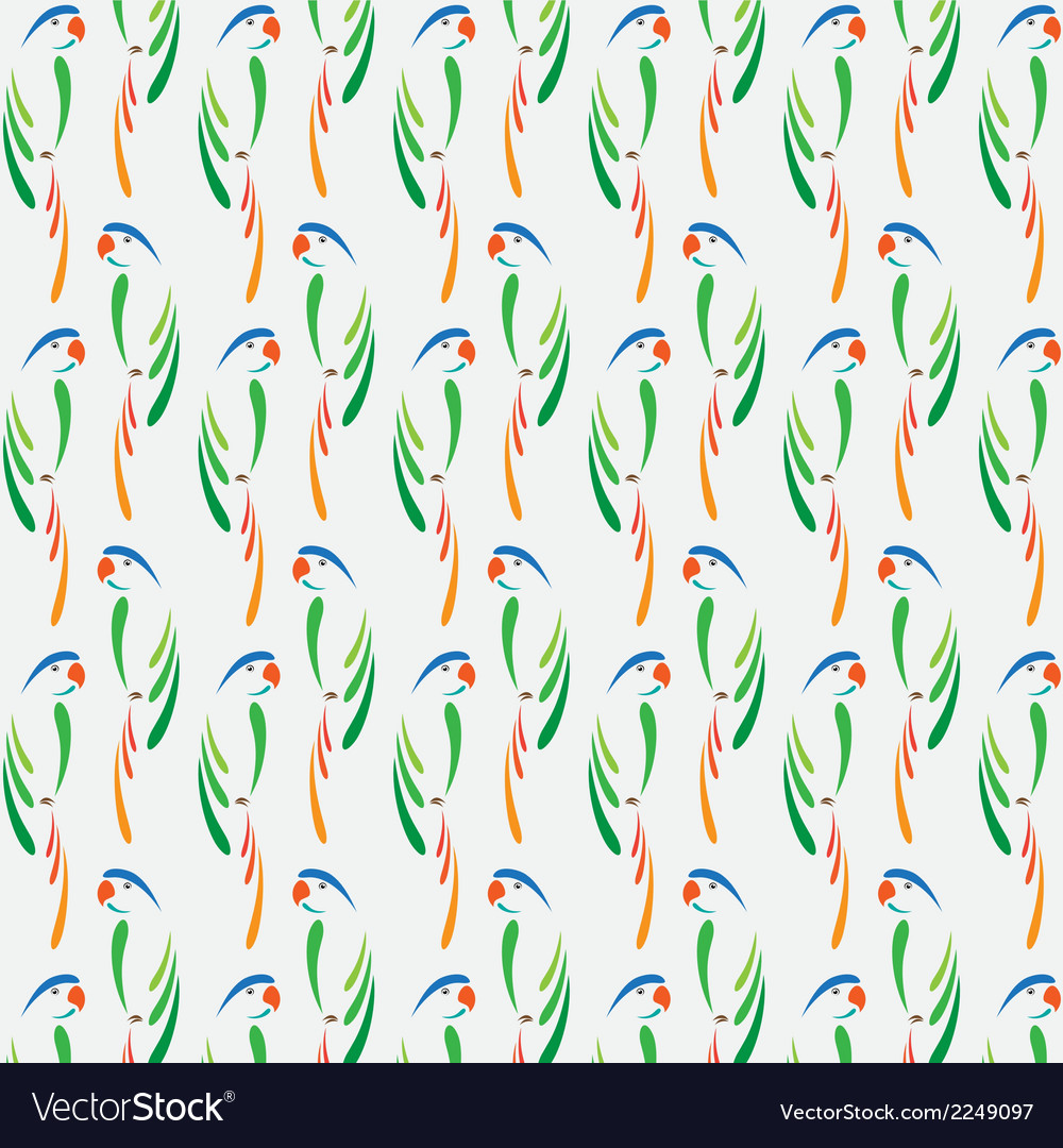 Parrot background vector | Price: 1 Credit (USD $1)