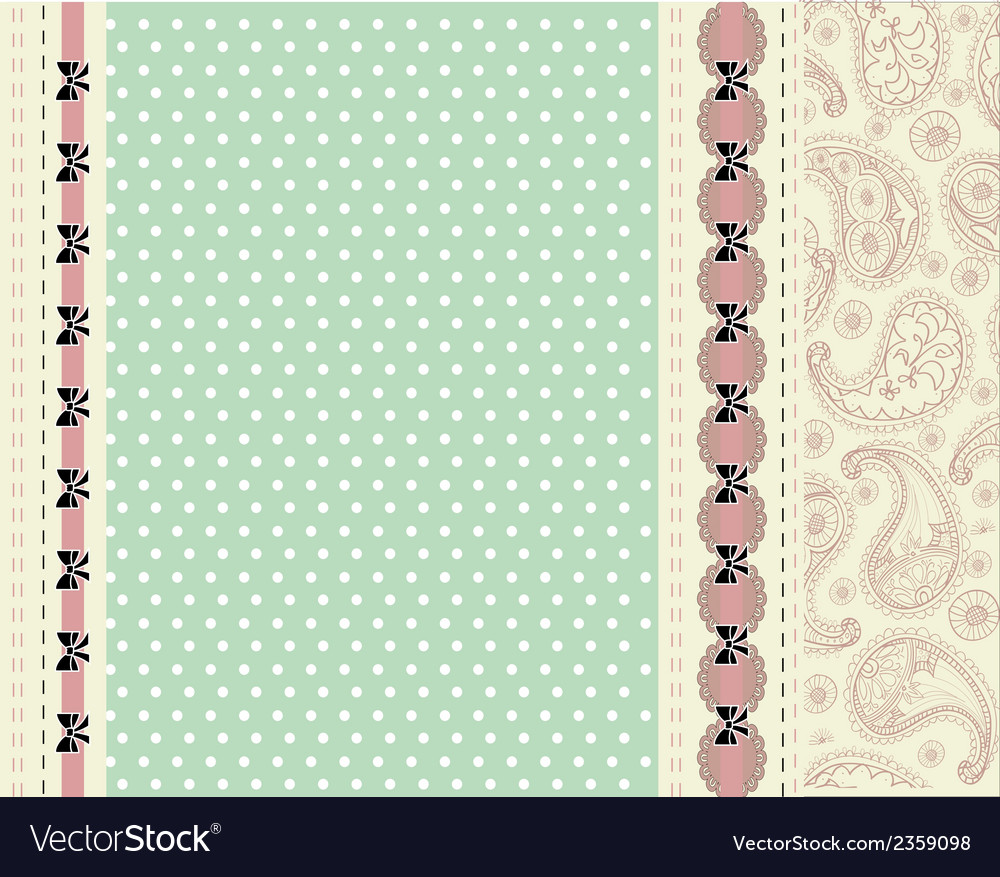 Blue card with floral pattern vector | Price: 1 Credit (USD $1)