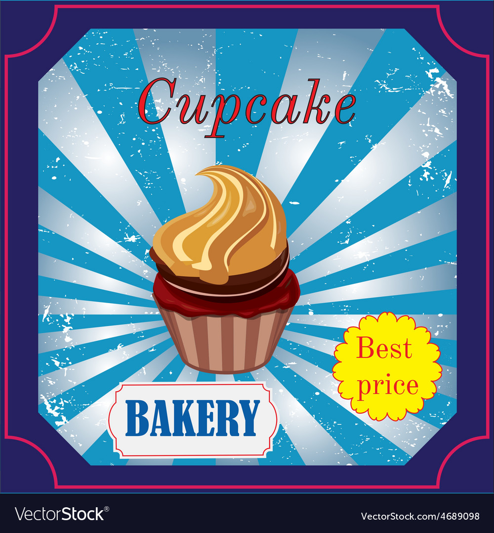 Cakes label vector | Price: 1 Credit (USD $1)