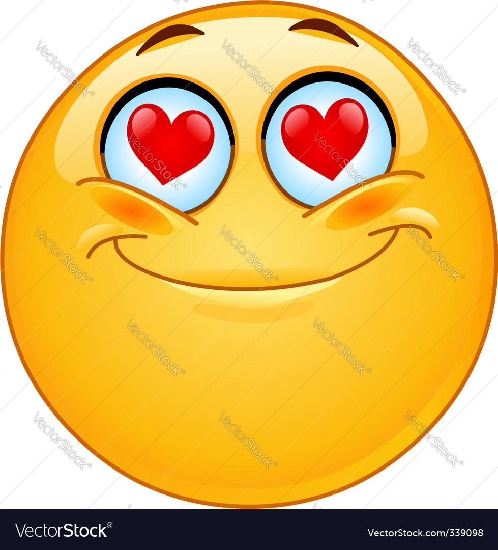 In love emotion vector | Price: 1 Credit (USD $1)