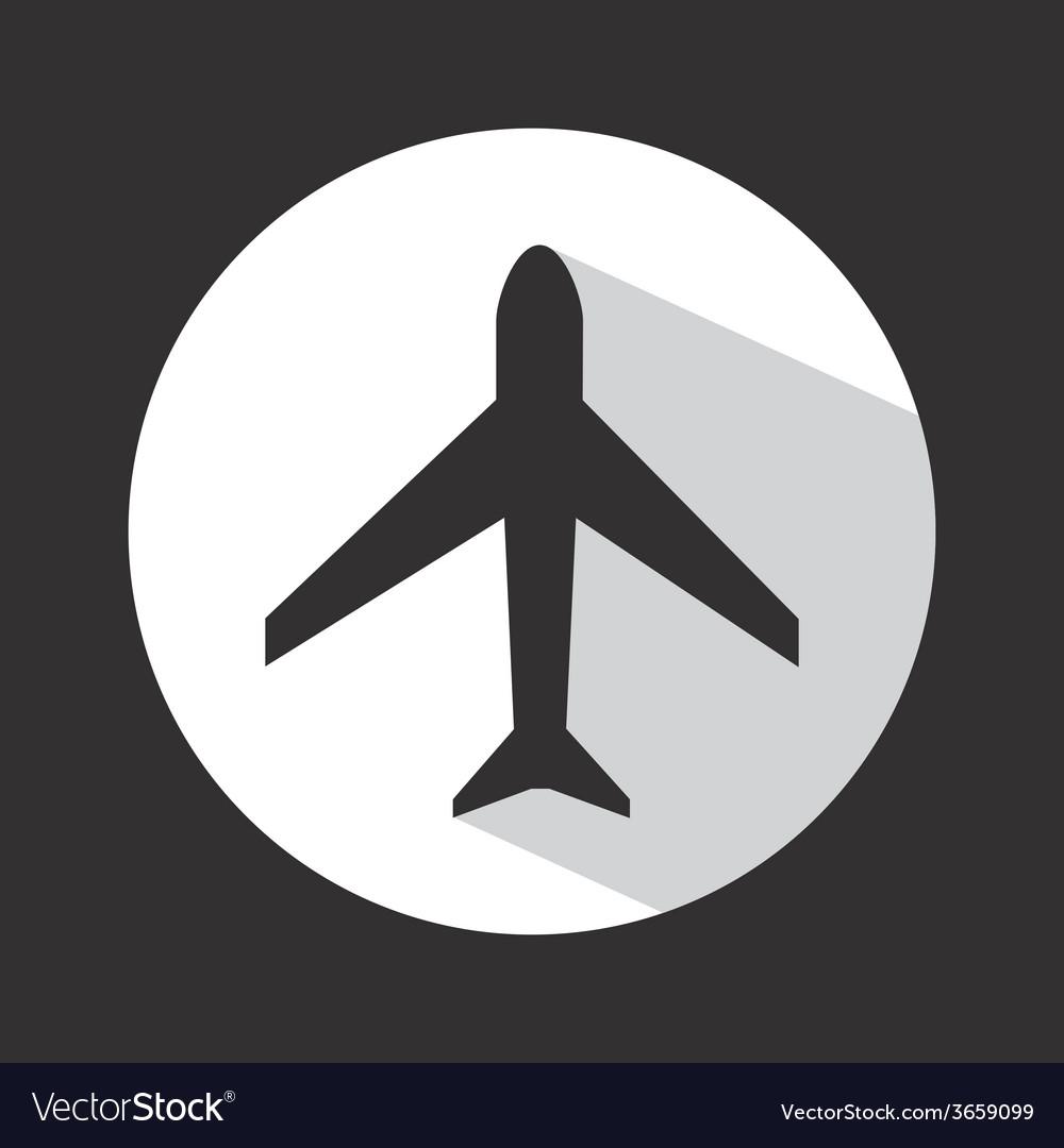 Airplane travel vector | Price: 1 Credit (USD $1)