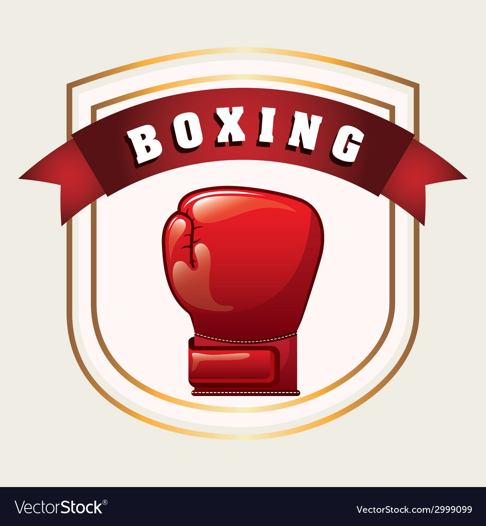Boxing design vector | Price: 1 Credit (USD $1)