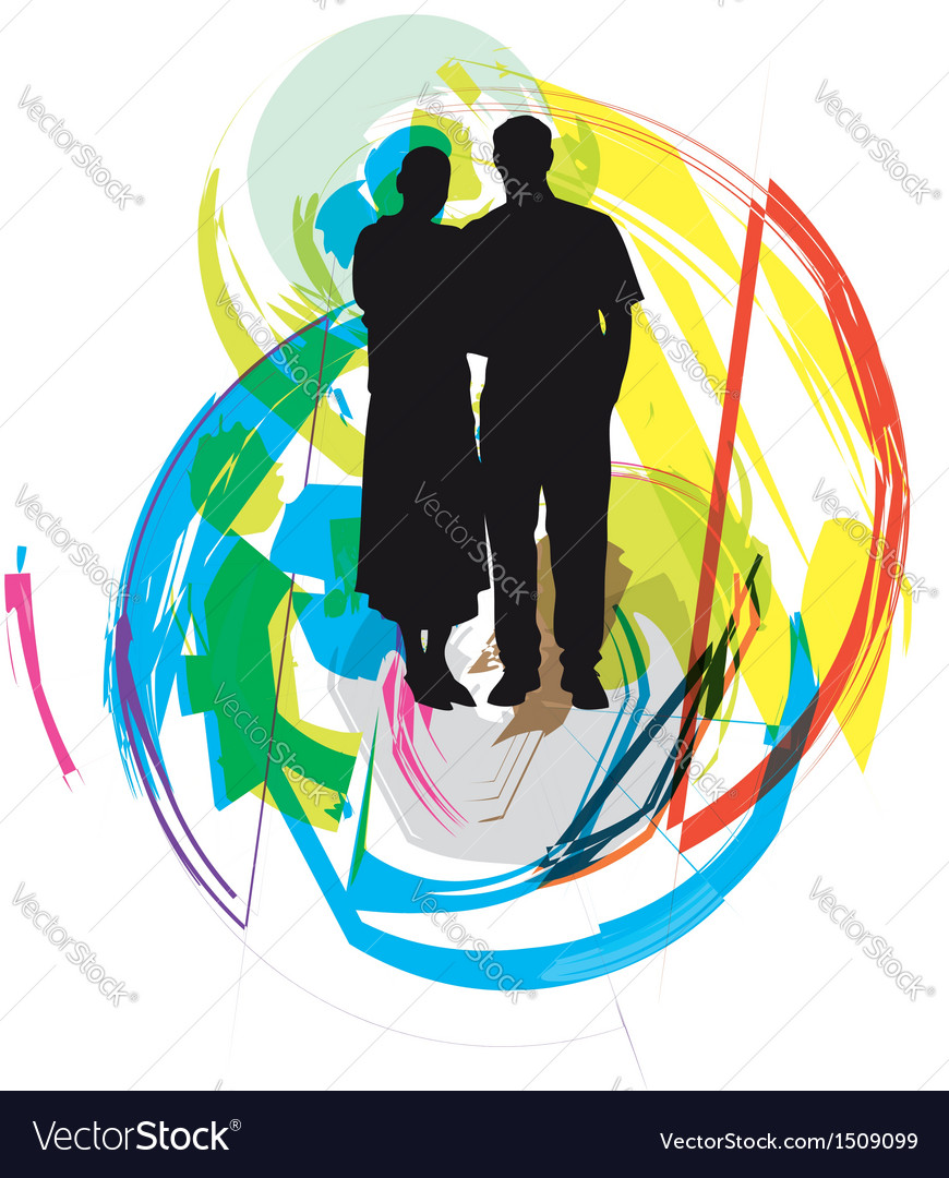 Couple vector | Price: 1 Credit (USD $1)