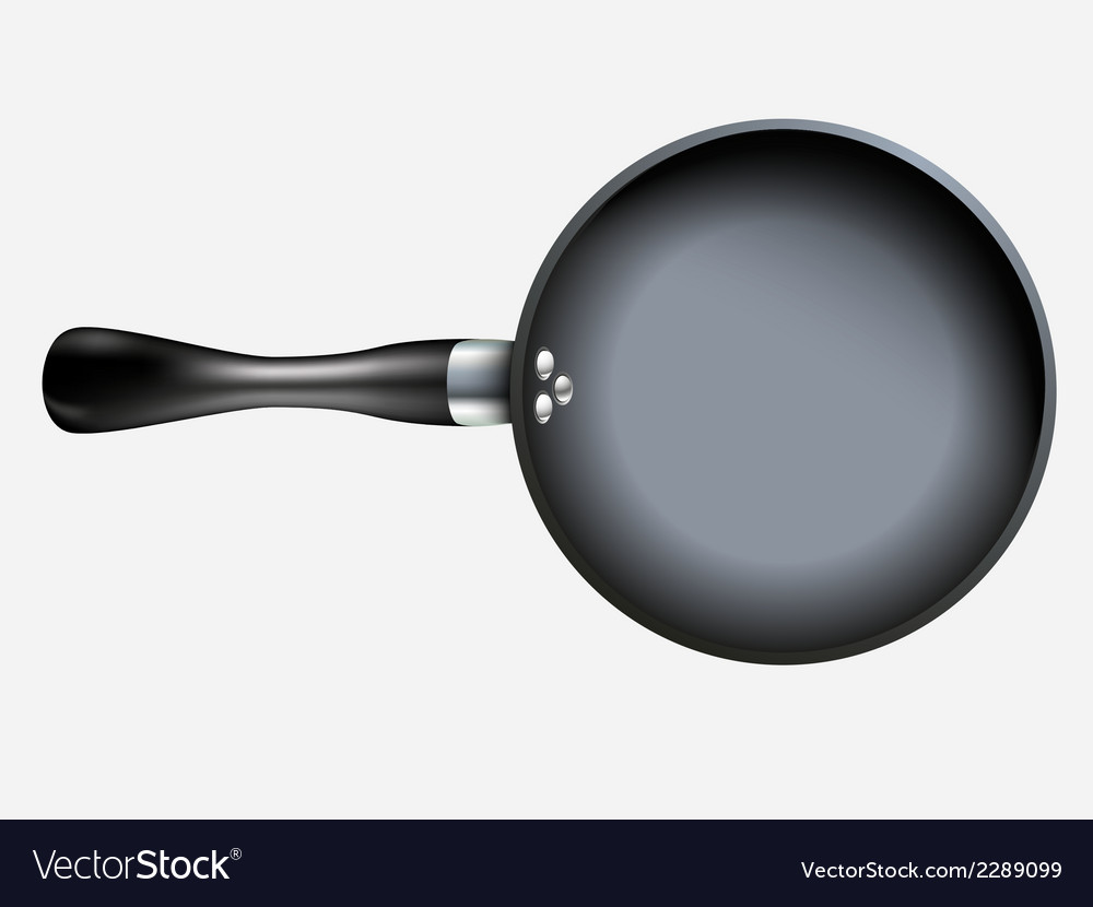 Empty pan vector | Price: 1 Credit (USD $1)