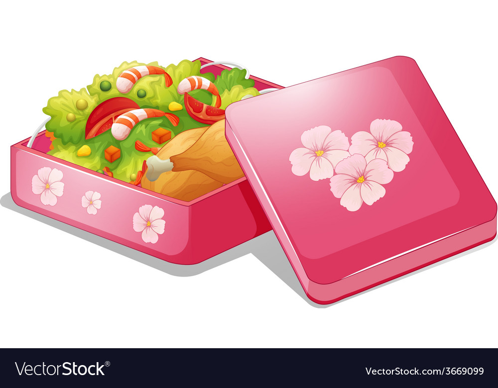 Lunchbox vector | Price: 3 Credit (USD $3)