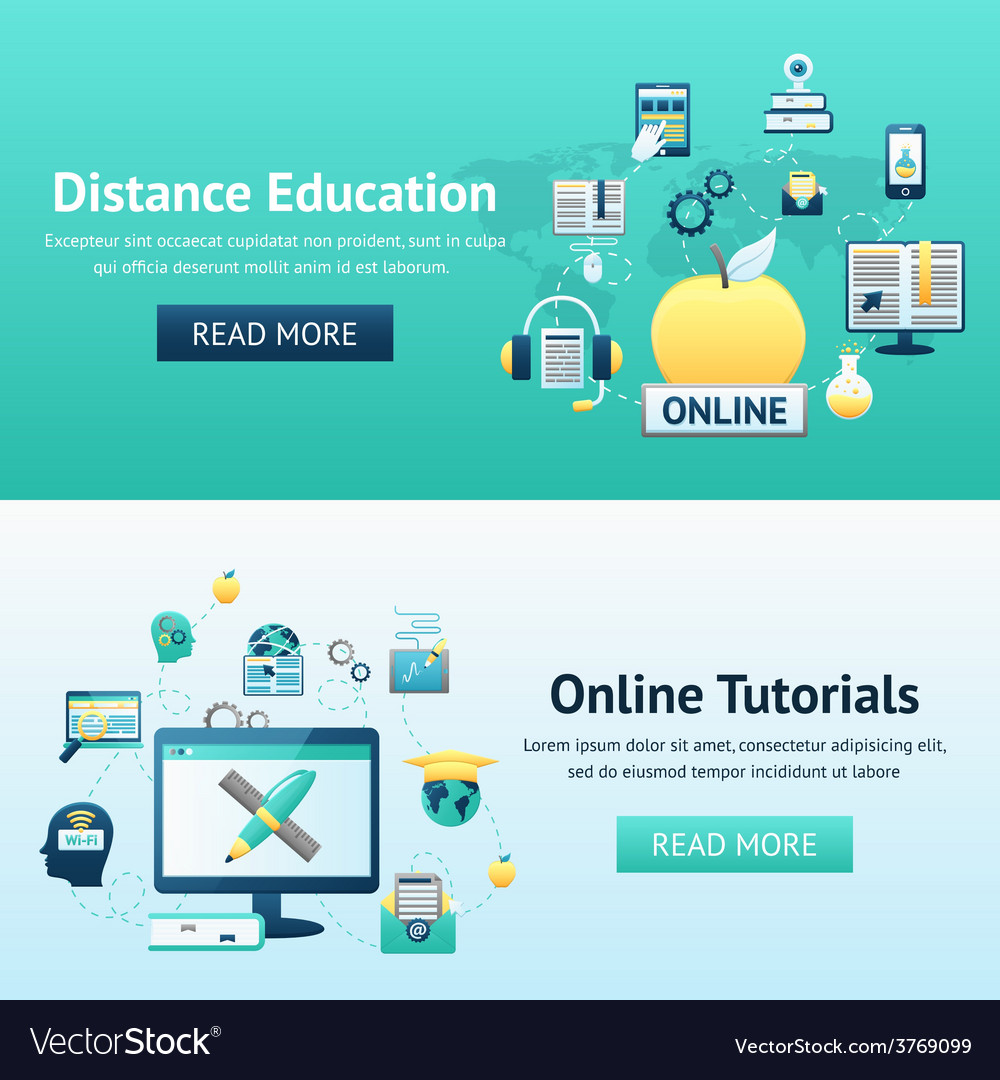 Online education design concept vector | Price: 1 Credit (USD $1)