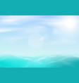 Abstract sea and sky background vector