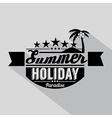Summer design badge vector