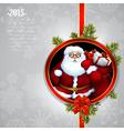 Santa claus christmas design vector