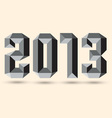 New 2013 year vector