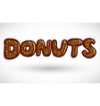 Sign doughnut vector