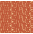 Seamless alcohol bottles pattern on brown vector