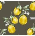 Lemon pattern4 vector
