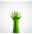 Hands tree vector