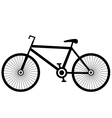 Bike black vector