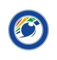 Emblem billiards vector