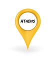 Location athens vector